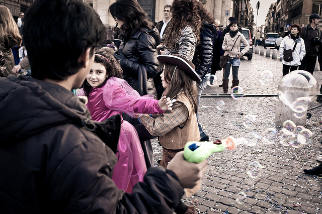 Carnival in Rome with Kids - Credits: Letizia Barbi