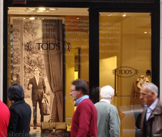 The most expensive shopping street in Florence