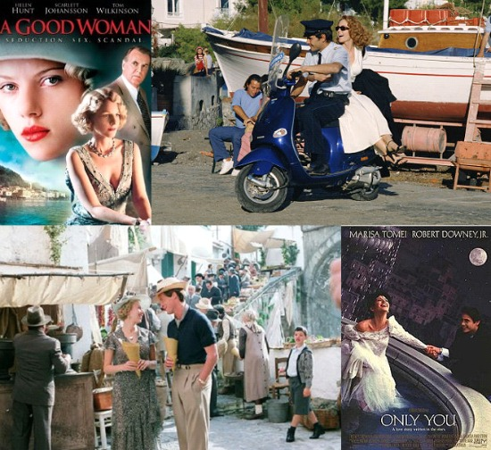 Movies filmed on the Amalfi Coast