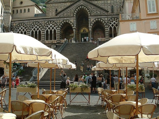 Café in Amalfi