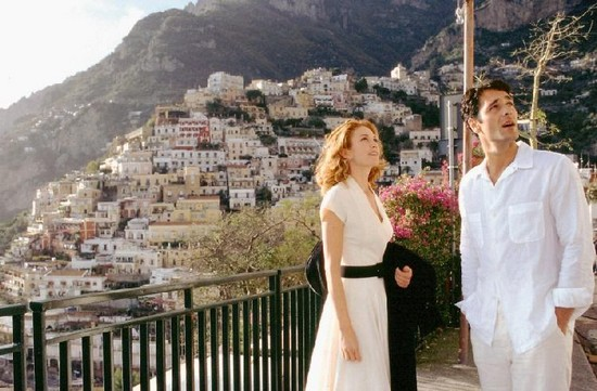 Under the Tuscan Sun movie filmed in Positano