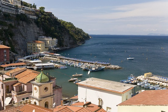 Charming Marina Grande Harbor in Sorrento
