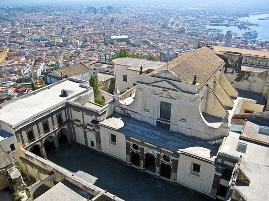 Certosa And Museum Of San Martino In Naples