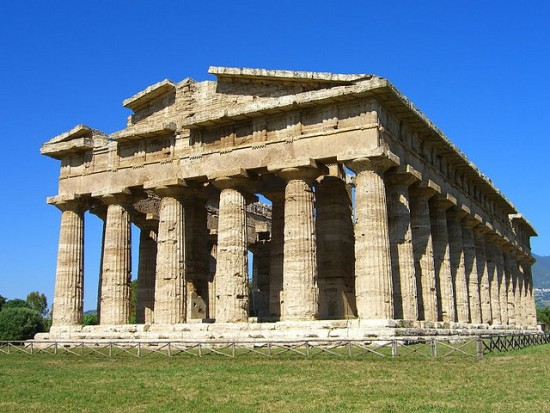 The Ancient Greek Temples of Paestum