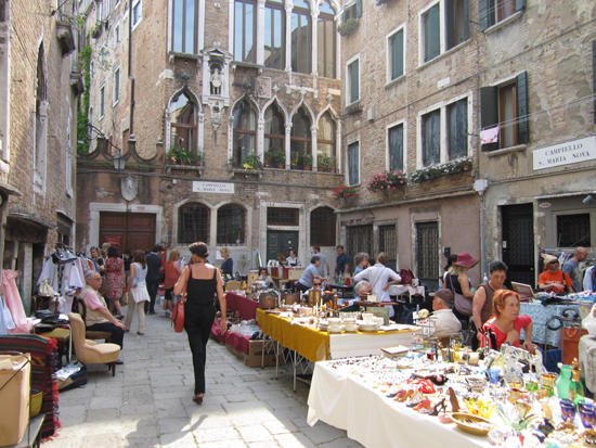 Markets in Venice