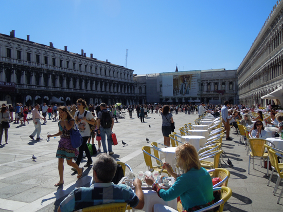 Piazza San Marco, Photo credit: Leslie Rosa