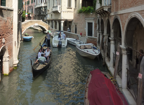 Gondola rides in Venice - Holiday in Italy