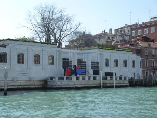 The Peggy Guggenheim Collection, a great source for modern and contemporary art in Venice, Photo credit: Leslie Rosa
