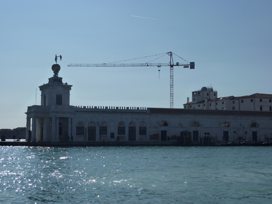 Punta della Dogana, a major space for contemporary art in Venice, Photo credit: Leslie Rosa