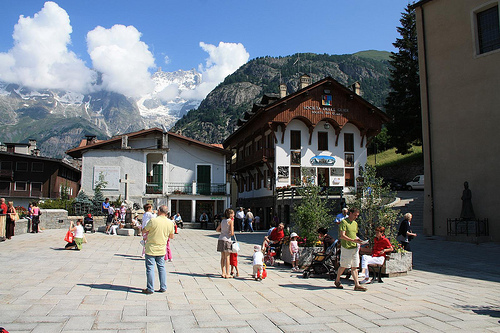Summer Ski destinations in Northern Italy: Courmayeur
