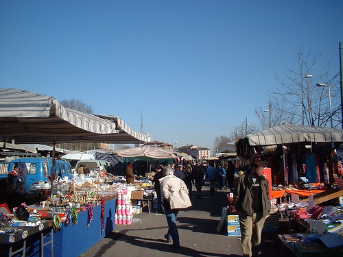 Markets in Milan