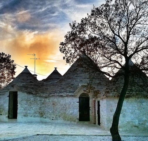 Alberobello at the sunset -  Experience Apulia