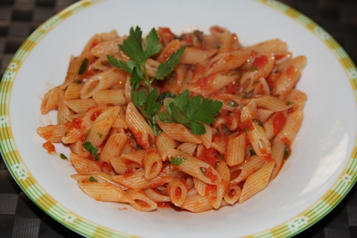 Arrabbiata pasta recipe - italian recipes - italian pasta