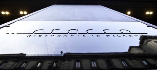 Cracco Restaurant in Milan, Italy