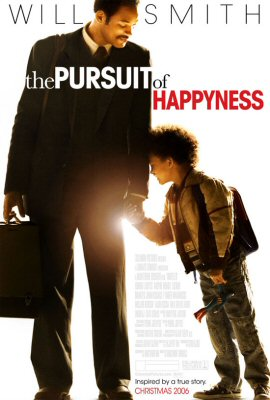 The pursuit of happyness poster by Gabriele Muccino