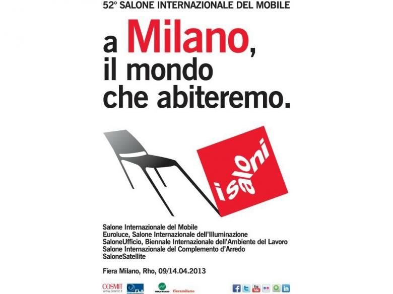 Exhibitions in Milan: Salone del Mobile 2013