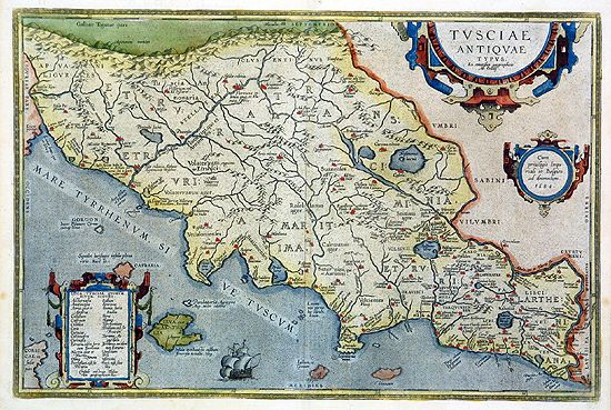 Ancient maps of italy discover italian old maps ancient map of tuscany old map copper engraved gumiabroncs Choice Image
