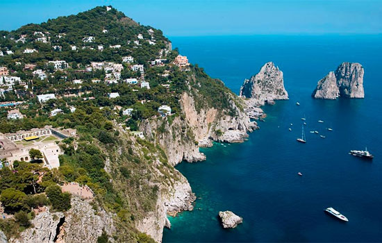 The Sea Stacks of Capri, Campania