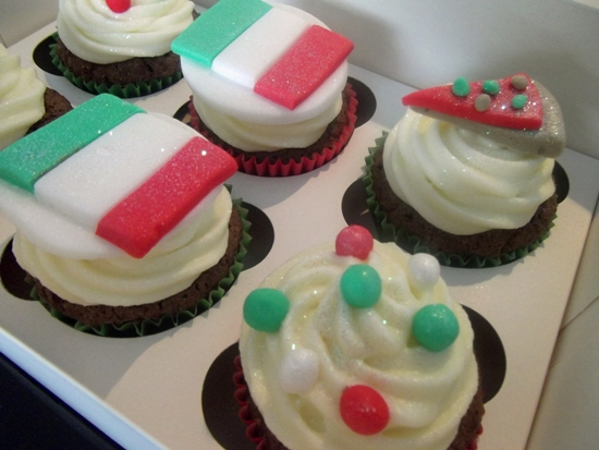 Cupcakes of Italy