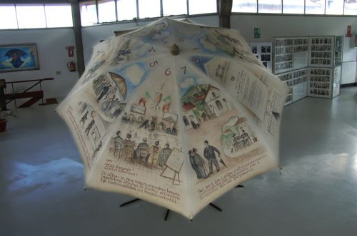 Strange museums - Museum of the Umbrella and the Parasol, Italy