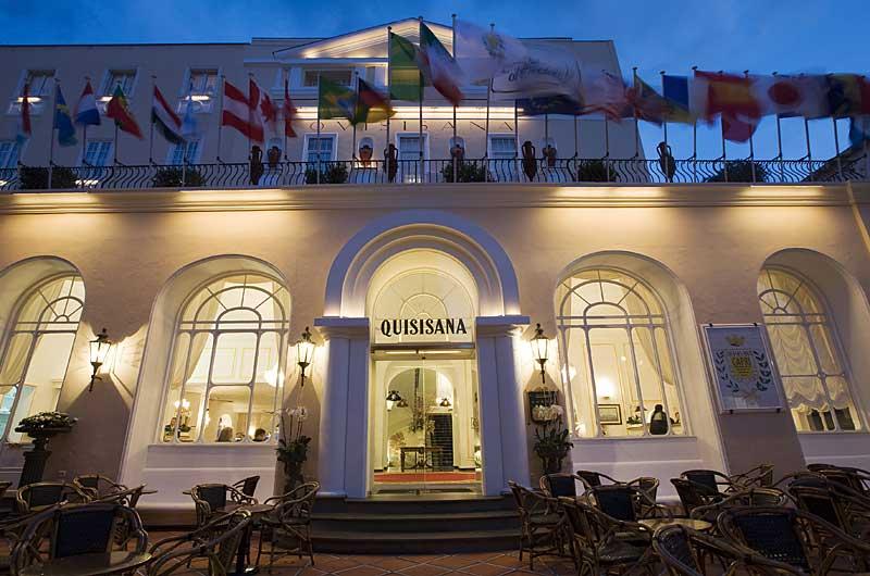 Hotel Des Monats Grand Hotel Quisisana In Capri