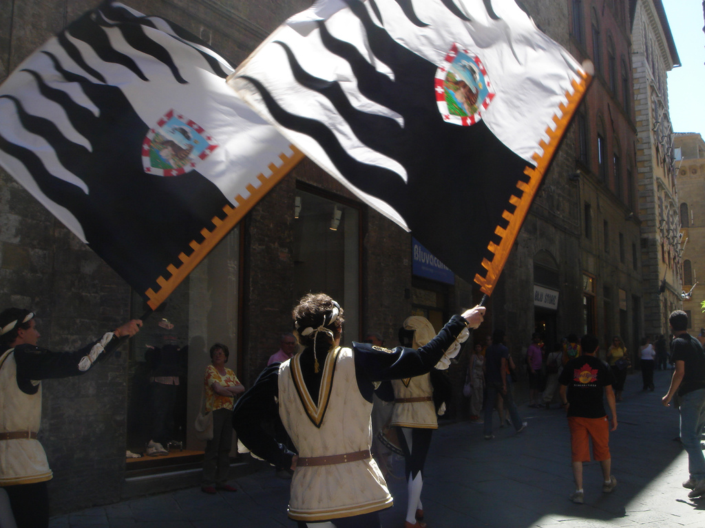 The Palio of Siena - Flickr Photo Credits: Wallula Junction
