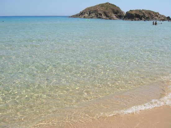 Best beaches in Sardinia: Su Giudeu