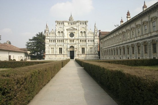 Where is Milan - Certosa di Pavia